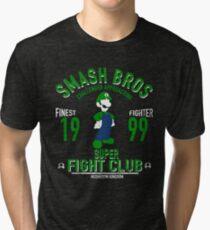 Mushroom Kingdom Fighter 2 Tri-blend T-Shirt