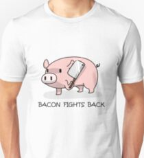 Bacon Fights Back Unisex T-Shirt