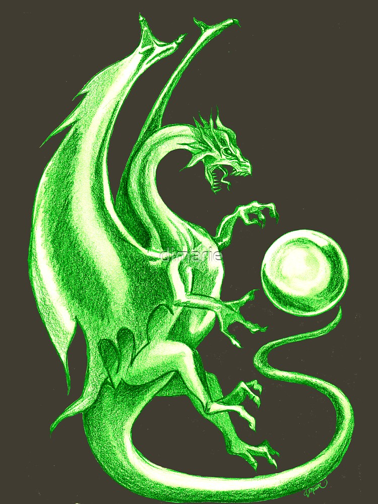 greeen dragon by dimarie