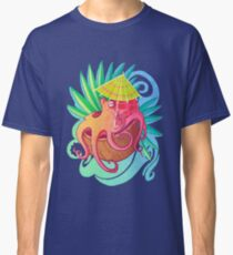 Octopus on the Beach Classic T-Shirt