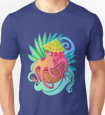 Octopus on the Beach T-Shirt