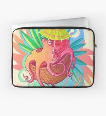 Octopus on the Beach Laptop Sleeve