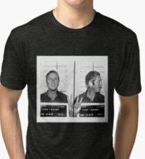 Steve McQueen Mugshot Tri-blend T-Shirt