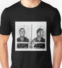 Steve McQueen Mugshot Unisex T-Shirt