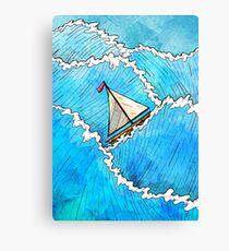 Let's Go Sailing Canvas Print