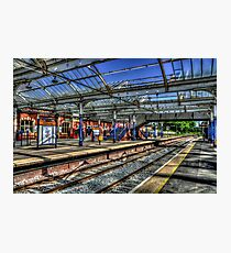 Whitley Bay Metro Station Photographic Print
