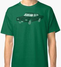 Supernatural Impala Typography Classic T-Shirt