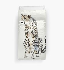 Watchful Cheetah | African Wildlife Duvet Cover