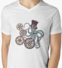Mr. Octopus Men's V-Neck T-Shirt