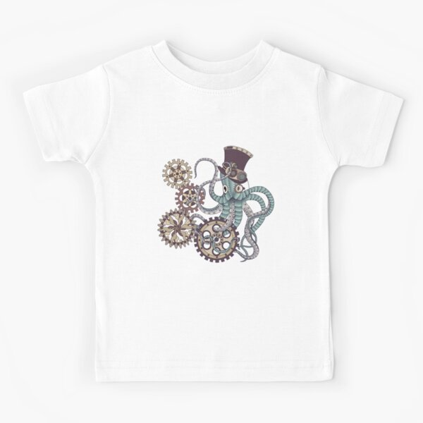 Mr. Octopus Kids T-Shirt