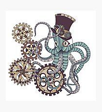 Mr. Octopus Photographic Print