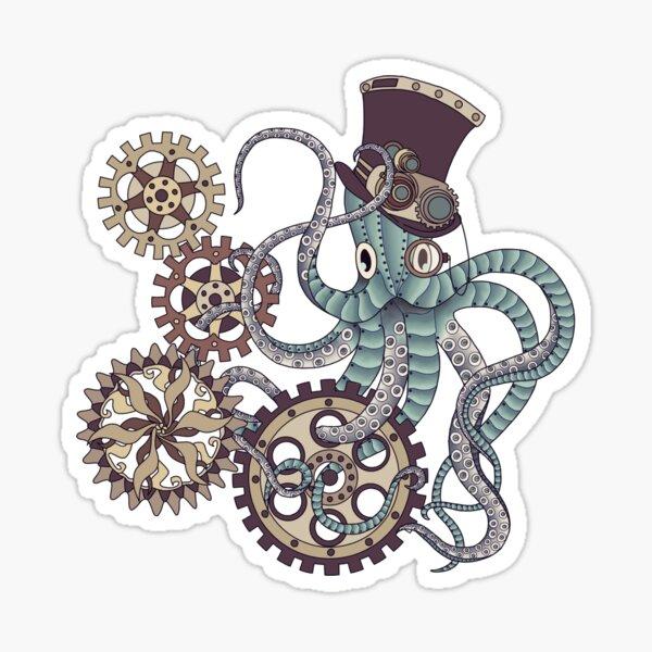 Mr. Octopus Sticker