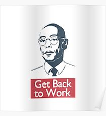 Gustavo Frig - Get Back to Work Poster