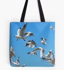 The Sky Dancers - Seagulls - NZ Tote Bag