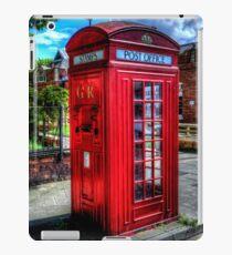 Red Telephone Kiosk iPad Case/Skin