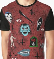 Horror Time Graphic T-Shirt