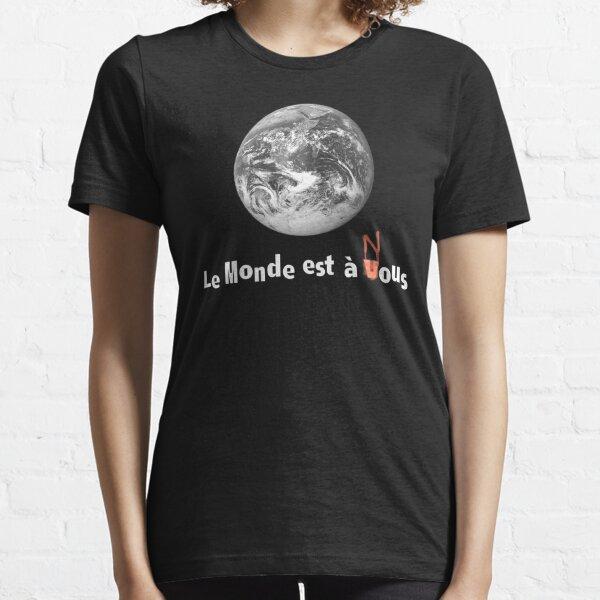 Le Monde Est A Nous (La Haine) T-shirt essentiel