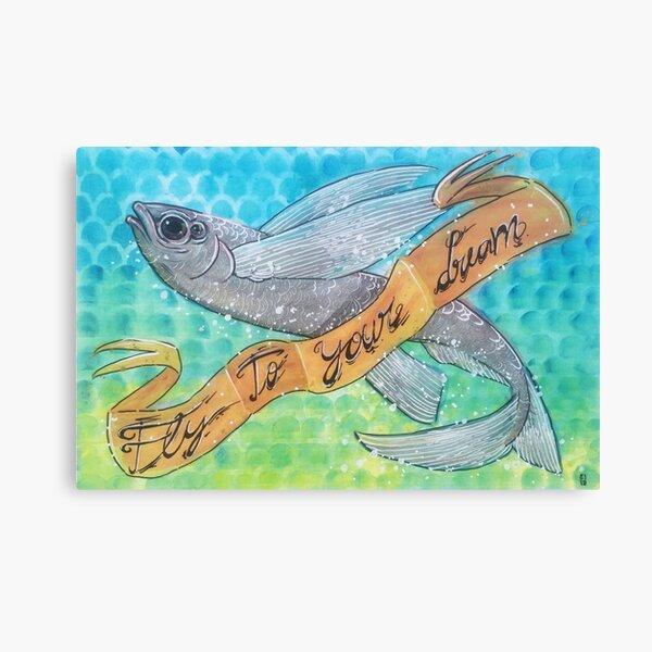 Geronimo the Fish Canvas Print