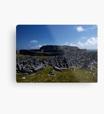 Dun  Aengus Fort, Inishmore, Aran Islands   Metal Print