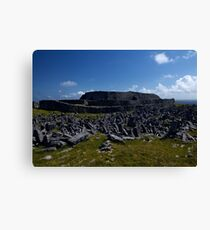 Dun  Aengus Fort, Inishmore, Aran Islands   Canvas Print