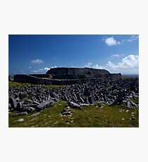 Dun  Aengus Fort, Inishmore, Aran Islands   Photographic Print
