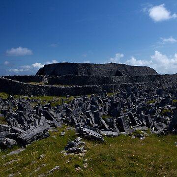 Dun  Aengus Fort, Inishmore, Aran Islands   by VeryIreland