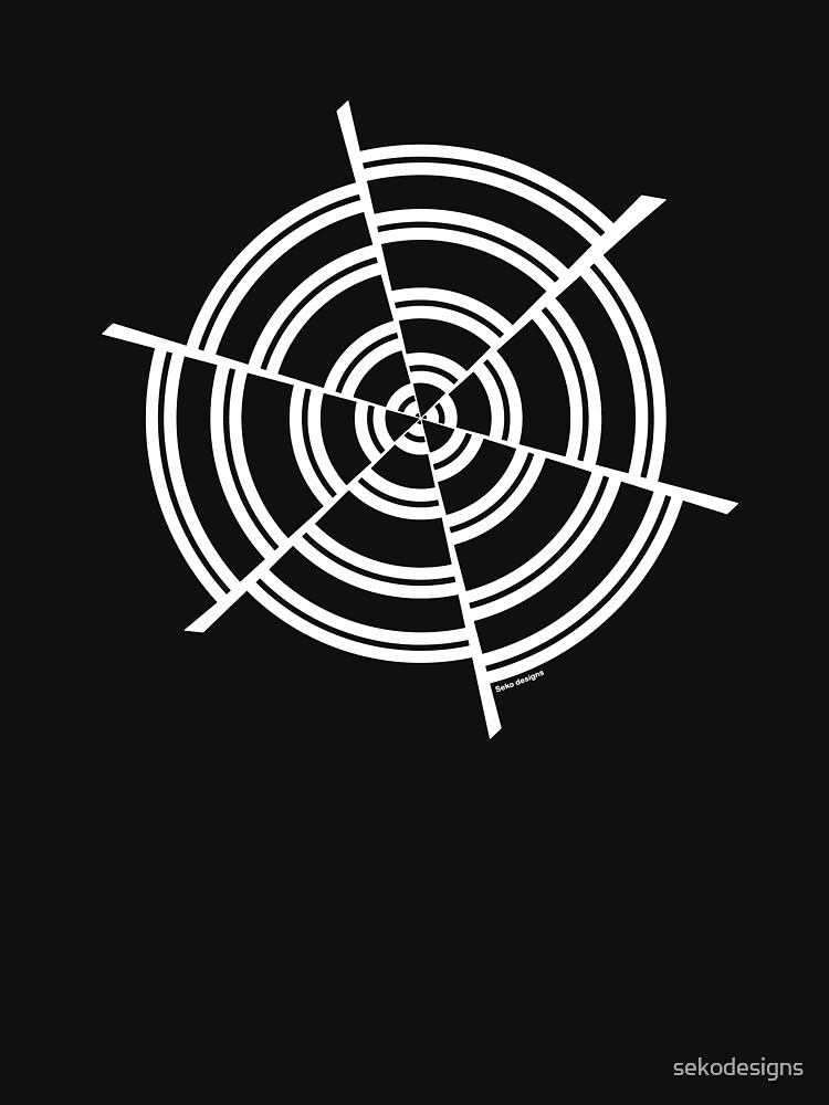 Mandala 2 Simply White by sekodesigns