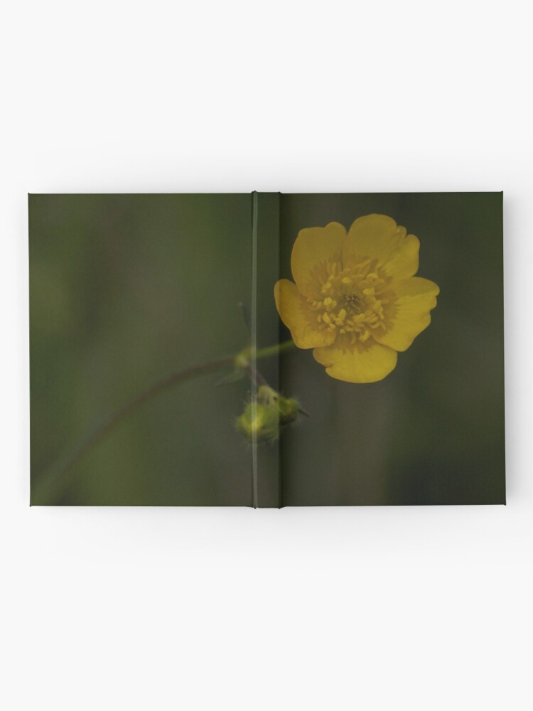 Alternate view of Meadow Buttercup - Burntollet Woods, County Derry Hardcover Journal