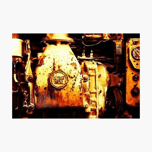 Detroit Diesel Photographic Print