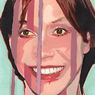 I construct and segment my perception to match my social and cultural environment. (Mary Tyler-Moore) by Ken  Wentworth