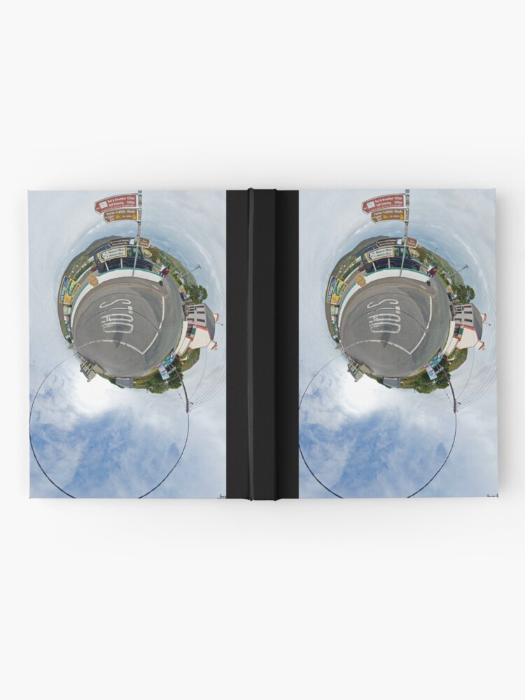 Alternate view of Glencolmcille - the man who missed the bus Hardcover Journal