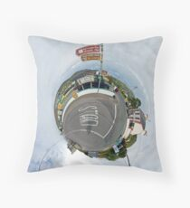 Glencolmcille - the man who missed the bus Throw Pillow
