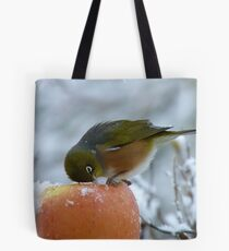I Know There's got to be Fruit In Here!!! - Silvereye - NZ Tote Bag