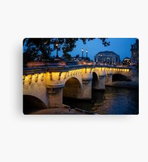 Pont Neuf Bridge - Paris, France Canvas Print