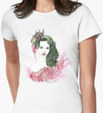 Queen of Frills Womens Fitted T-Shirt