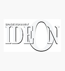 Space Runaway Ideon Logo Photographic Print