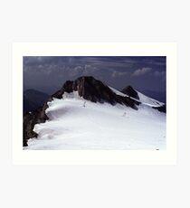 Icefield near Hintertux Art Print