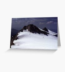 Icefield near Hintertux Greeting Card