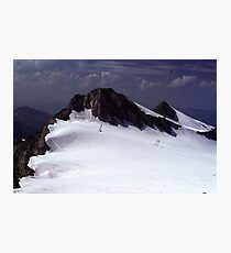 Icefield near Hintertux Photographic Print