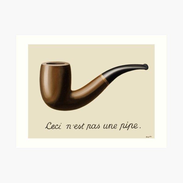 La traición de imágenes - Magritte Lámina artística
