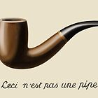 The Treachery of Images - Magritte by przezajac