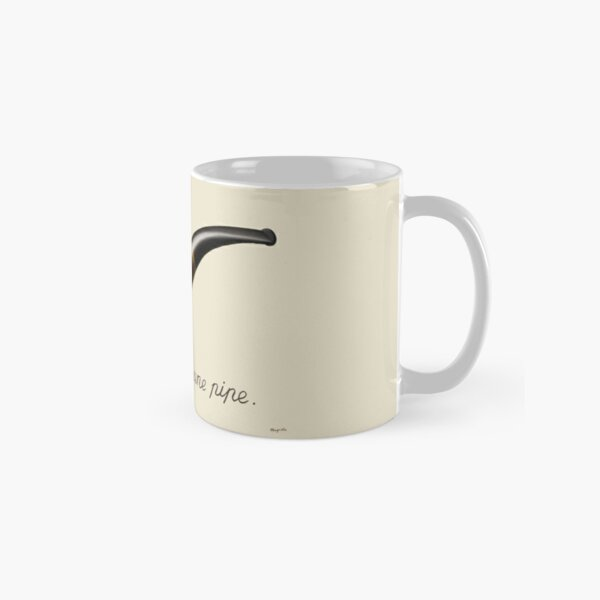 The Treachery of Images - Magritte Classic Mug