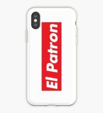 El Patron Supreme iPhone Case