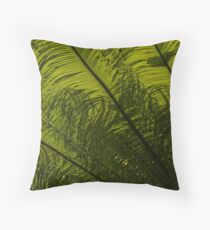 Tropical Green Curves and Diagonals Throw Pillow