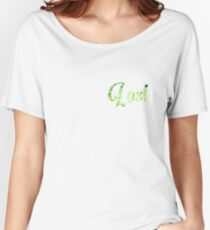 Lost Typography Women's Relaxed Fit T-Shirt