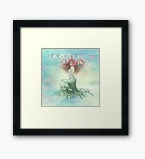 """""""DECEMBER"""" from the series """"Calender Sheets"""" Framed Print"""