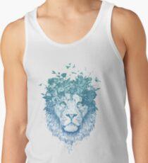 Floral lion Tank Top