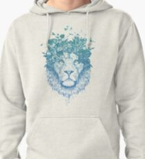 Floral lion Pullover Hoodie
