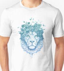 Floral lion Unisex T-Shirt