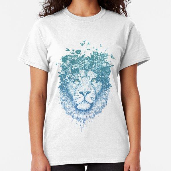 Floral lion Classic T-Shirt